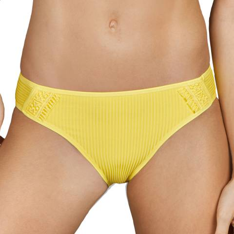 Andres Sarda Yellow Aracari Bikini Rio Briefs