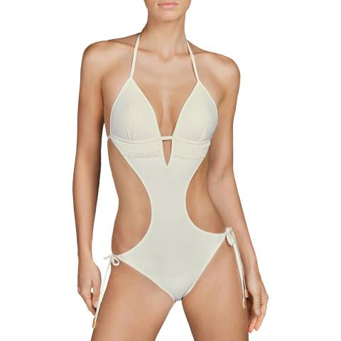 Andres Sarda Natural Aracari Special Trikini Swimsuit