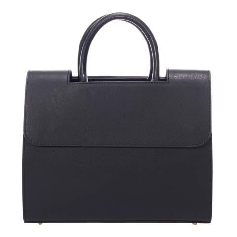 Markese Black Leather Handbag
