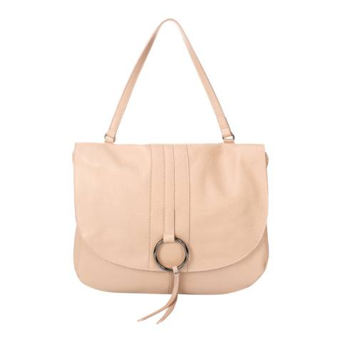 Giorgio Costa Pink Leather Top Handle Bag