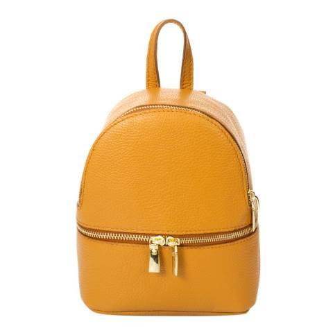 Giorgio Costa Tan Leather Backpack