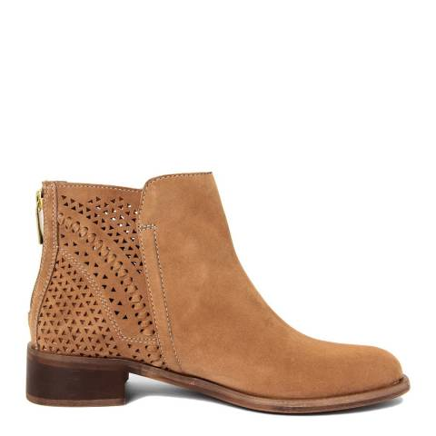 Gusto Brown Rov Suede Ankle Boot