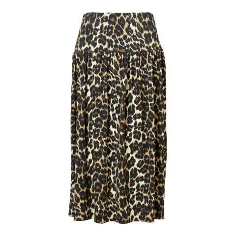 Baukjen Leopard Print Abigail Skirt