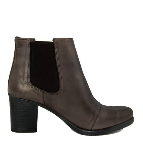 Pelledoca Brown Eva Leather Chelsea Boot