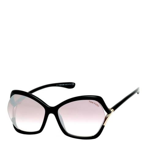 Tom Ford Women's Purple Mirror Tom Ford Sunglasses 61mm