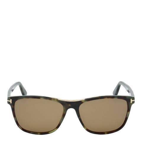 Tom Ford Men's Havana/Brown Tom Ford Sunglasses 56mm
