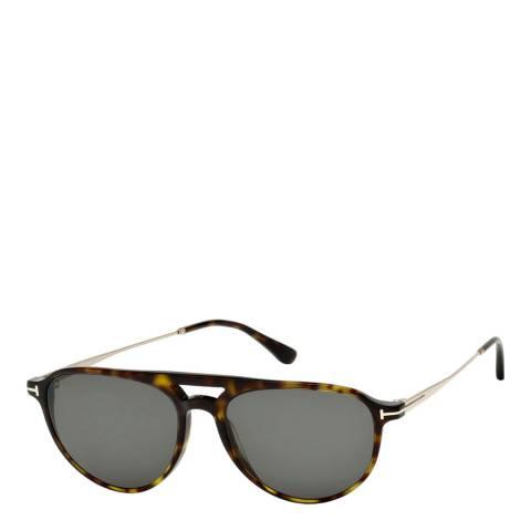 Tom Ford Men's Dark Havana Tom Ford Sunglasses 58mm