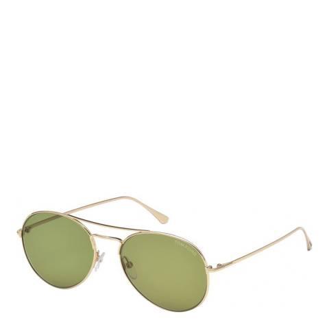 Tom Ford Men's Green Tom Ford Sunglasses 55mm