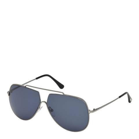 Tom Ford Men's Blue Tom Ford Sunglasses 61mm