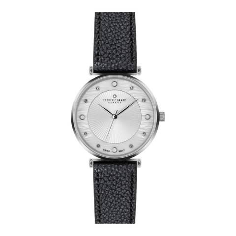 Frederic Graff Women's Silver Jungfrau Silver Mesh Watch with Interchangeable Strap 18 mm