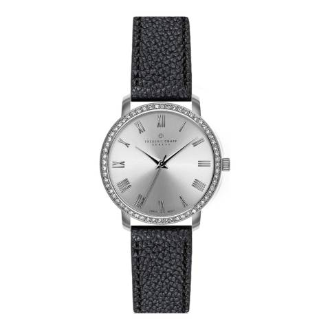 Frederic Graff Women's Silver Ruinette Silver Mesh Watch with Interchangeable Strap 18 mm
