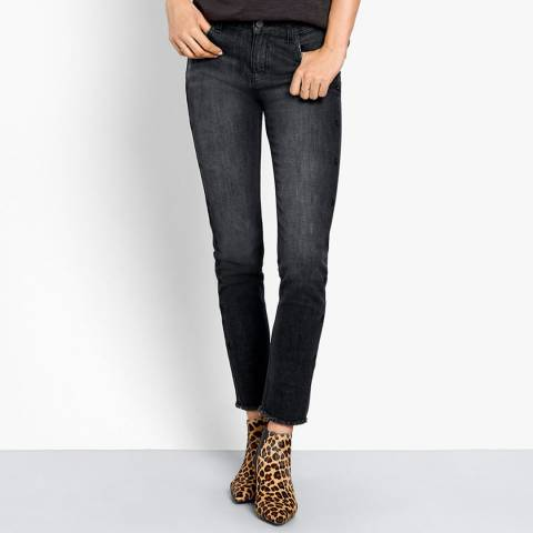 hush Grey Bailey Skinny Stretch Jeans
