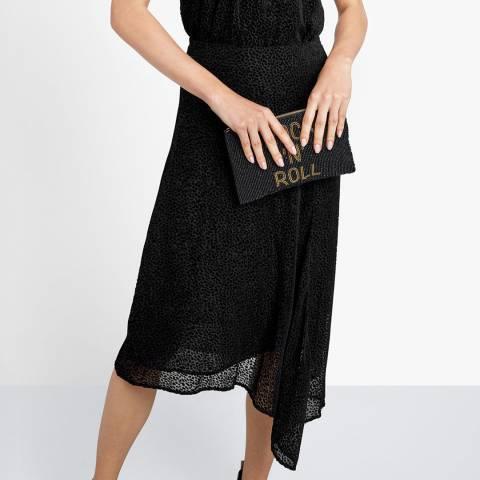 hush Black Clarissa Devore Skirt