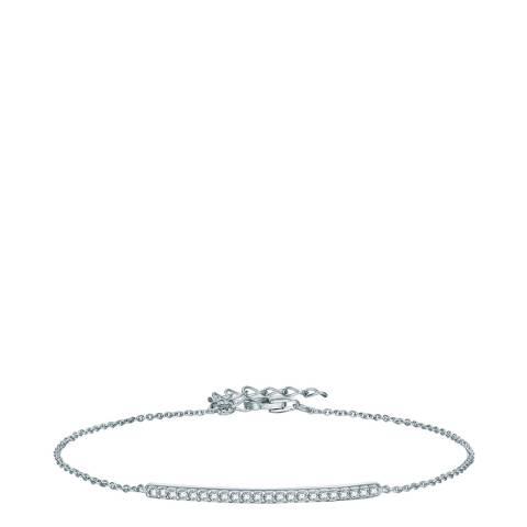 Carat 1934 Silver Crystal Bracelet