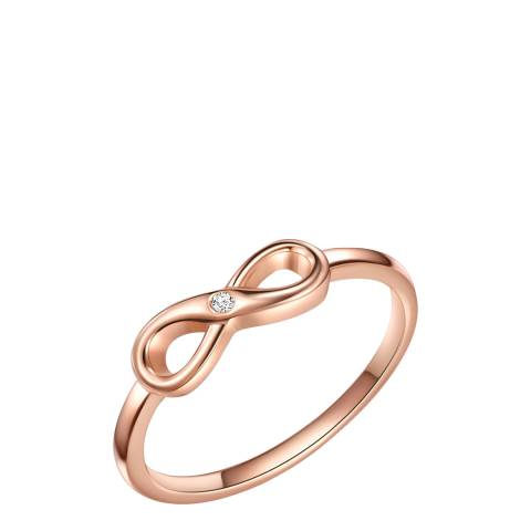Tess Diamonds Rose Gold Diamond Infinity Ring