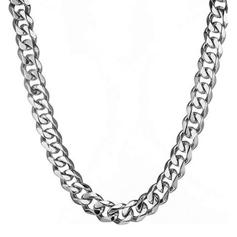 Stephen Oliver Silver Plated Cable Necklace