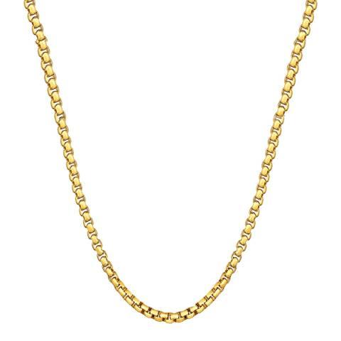 Stephen Oliver Gold Plated Cobra Necklace