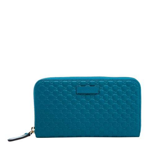 Gucci Women's Gucci Micro Guccissima Wallet