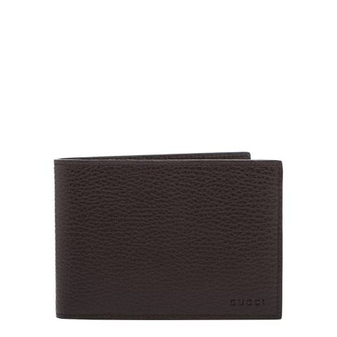 Gucci Men's Gucci  Leather Wallet