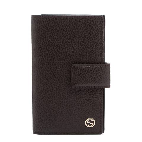 Gucci Women's Gucci Leather Folio Wallet