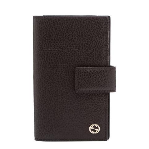 Gucci Women's Gucci Leather Folio Purse