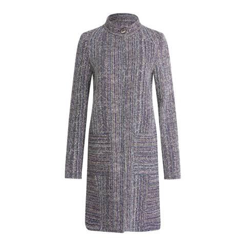 Brora Anthracite Spring Tweed Coat