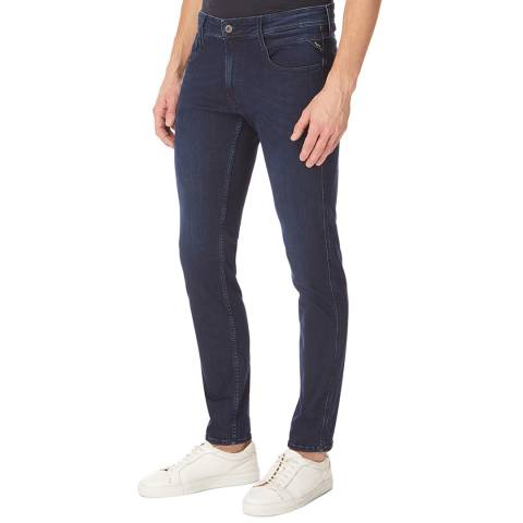 Replay Indigo Anbass Slim Stretch Jeans