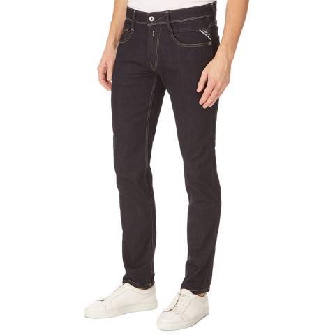 Replay Dark Blue Anbass Slim Stretch Jeans