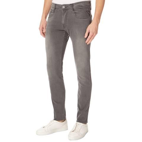 Replay Grey Anbass Slim Stretch Jeans