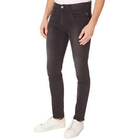 Replay Black Wash Anbass Slim Stretch Jeans