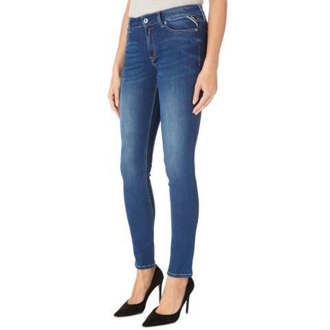 Replay Indigo Luz Power Stretch Jeans