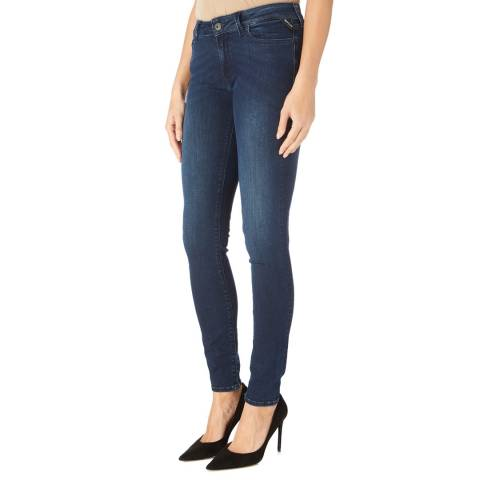 Replay Dark Blue Luz Power Stretch Jeans