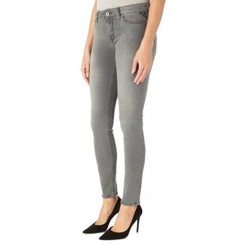 Replay Grey Luz Power Stretch Jeans