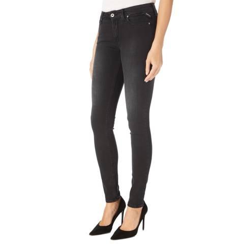 Replay Black Wash Luz Power Stretch Jeans