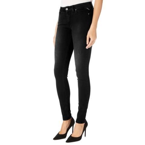 Replay Black Luz Power Stretch Jeans