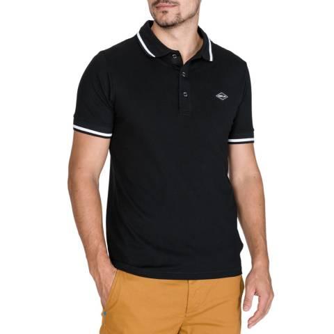 Replay Black Trim Polo Shirt