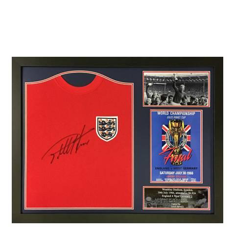 Allstar Signings Sir Geoff Hurst Signed England 1966 Shirt