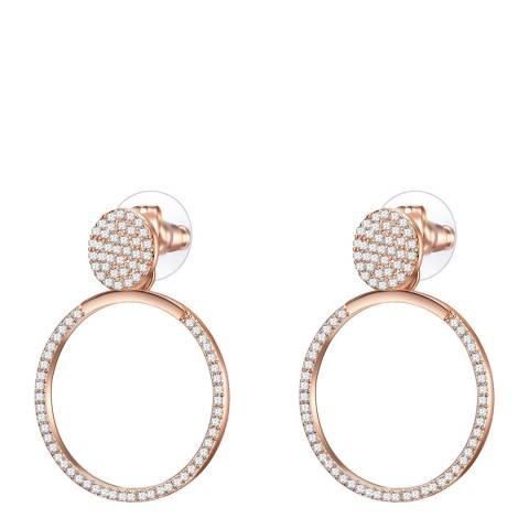 Runway Rose Gold Drop Earrings