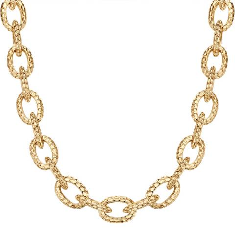 Tassioni Yellow Gold Plated Necklace