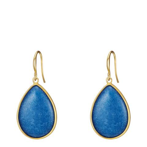 Tassioni Yellow Gold Plated Earring