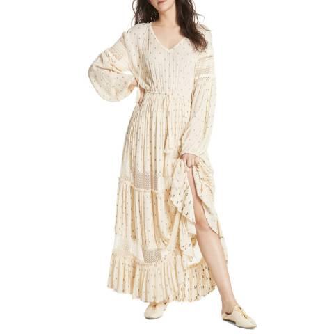 Free People Cream Sada Maxi Dress