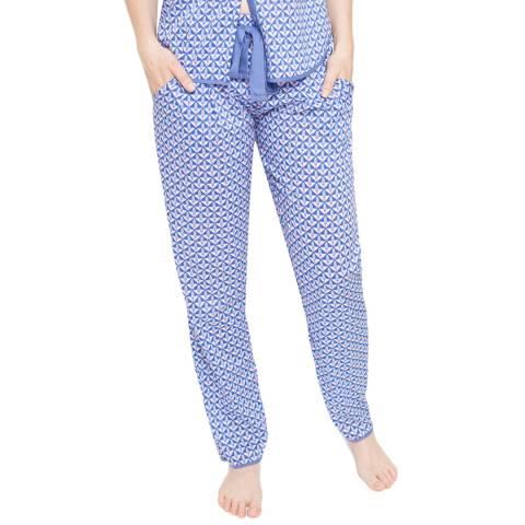 Cyberjammies Isla Woven Geo Print Pyjama Pant