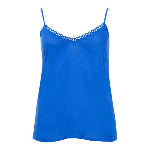 Cyberjammies Mia Woven Royal Blue Solid Modal Cami