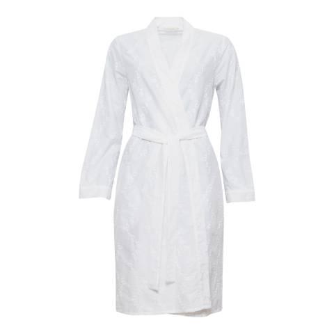 Cyberjammies Pearl Woven Long Sleeve Embroidered Short Kimono Wrap