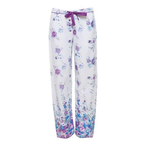 Cyberjammies Andrea Woven Floral Print Pyjama Pant