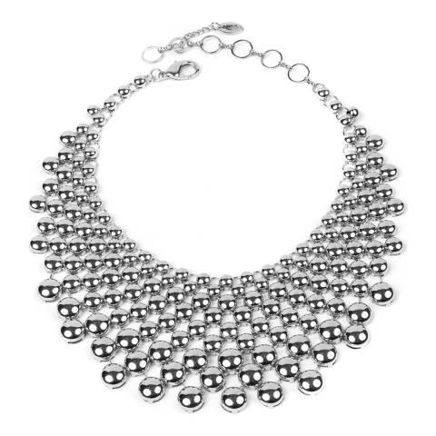 Amrita Singh Silver Collar Necklace