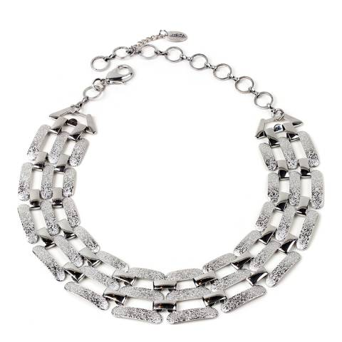 Amrita Singh Silver Adjustable Choker/Collar Necklace
