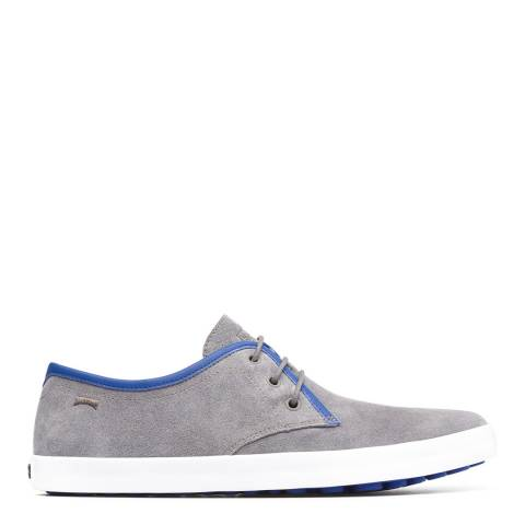 Camper Grey & Blue Pursuit Sneaker