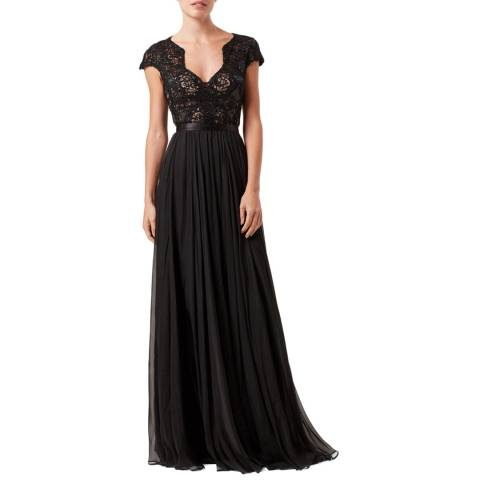 Catherine Deane Black Meike Maxi Dress