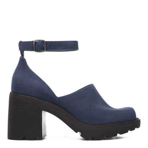 Camper Blue Anouk Heeled Sandal